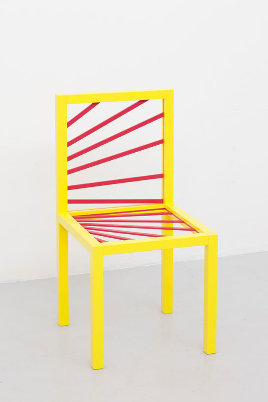 Peter Holm, Glenn Goulds Chair , Soloshow,SydneyNonObjective, 2013