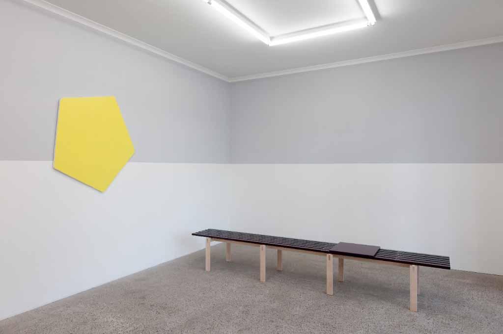 PaintingOnTopOfitSelf, Mop , Sydney, Olivier Mosset,Kyle Jenkins,Peter Holm