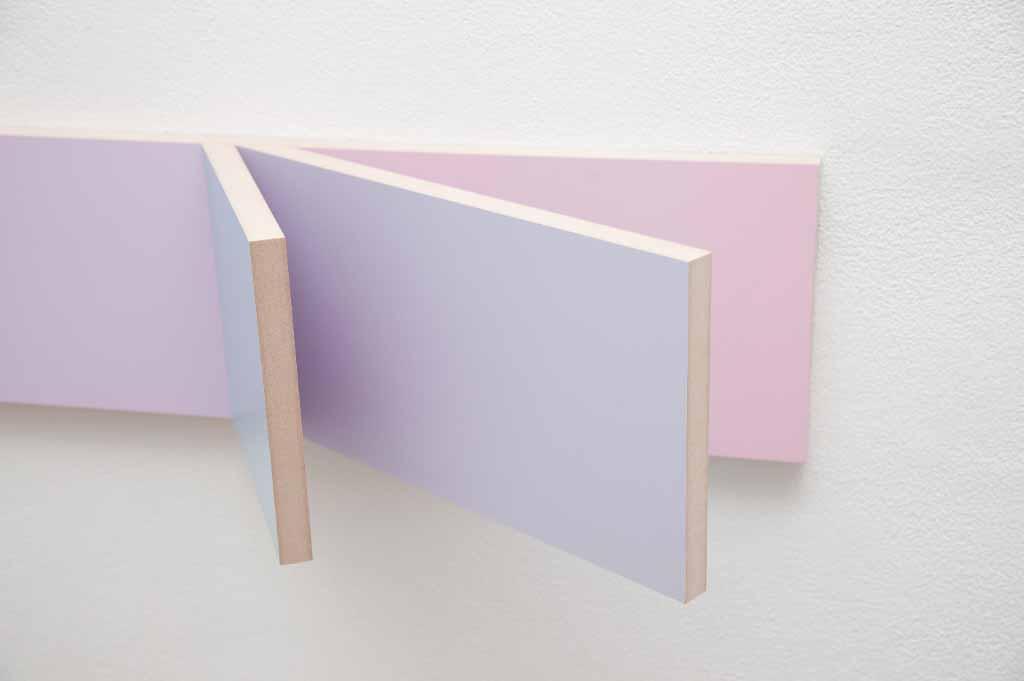 Paintingontopofitself,Peter Holm 2015, Unfolded Painting, Kyle Jenkins, Olivier Mosset, Tarn McLean, Sydney