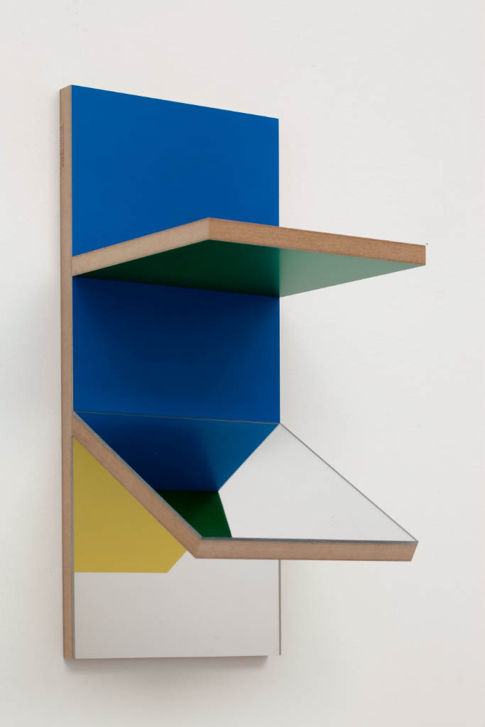 Unfolded Painting 0 RGBY RedGreenBiueYellow,Peter Holm, 2015, Soloshow, Raygun, Object,painting