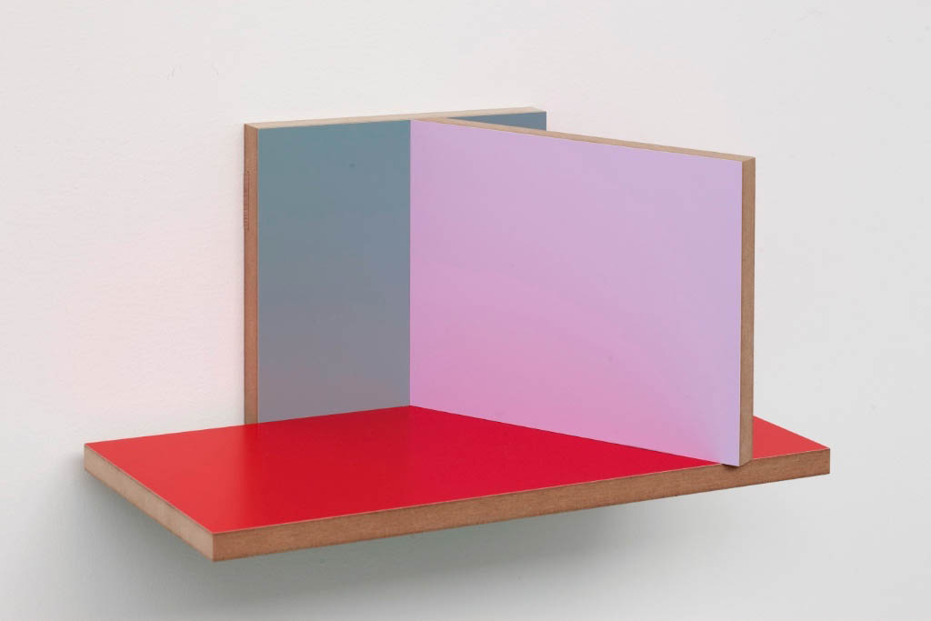 Unfolded Painting # 2, RBP Red Bottom Piece, Peter Holm, 2015, Soloshow, Raygun