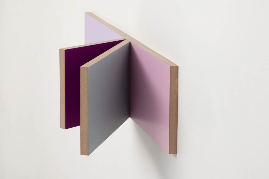 Unfolded Painting No.4,Peter Holm, 2015, Soloshow, Raygun, Object,painting