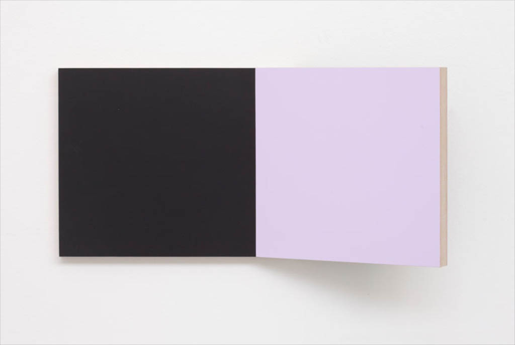 Unfolded Painting.6..BLP.BlackLightPinkOlive,Peter Holm, 2015, Soloshow, Raygun, Object,painting